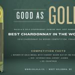 Chardonnay du Monde - Kalala 2013 Chardonnay Icewine