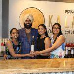 Kalala family shot- Kiran, Karnail, Simran and Narinder Sidhu