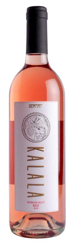 Kalala Rosé bottle shot