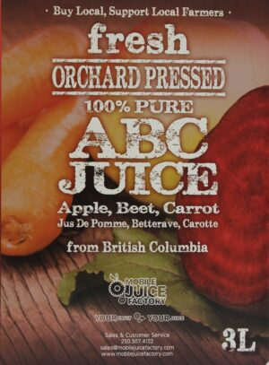 3L ABC Juice Box