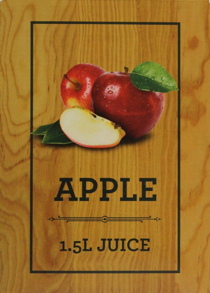 1.5L Apple Juice Box