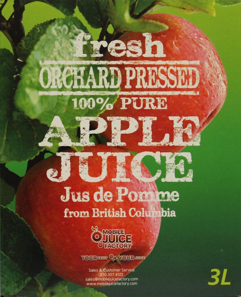 3L Apple Juice Box