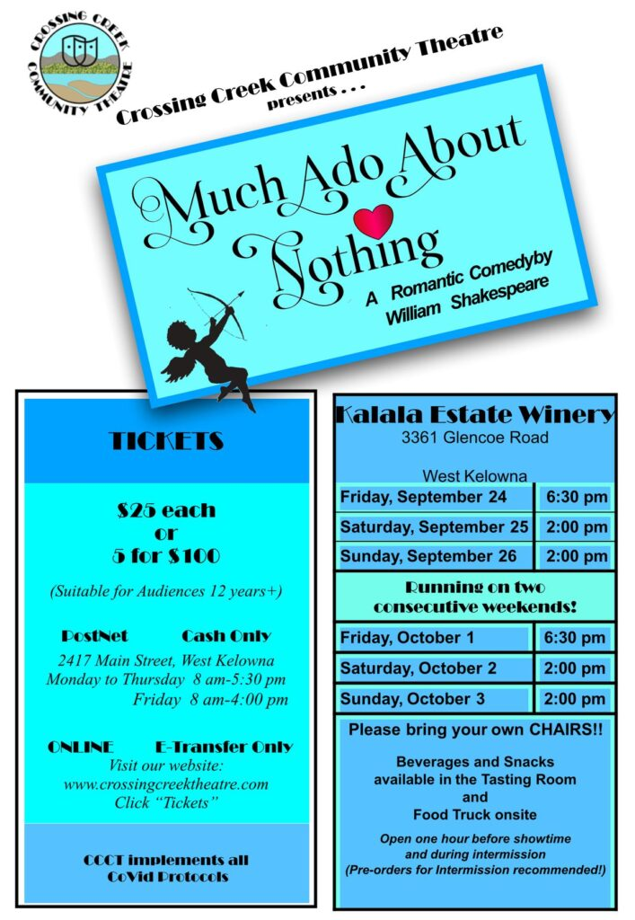 Much Ado About Nothing poster by CCCT